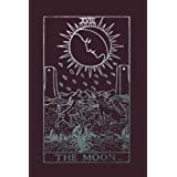 The Moon: Tarot Card Notebook Raisin Black 175-Page College-Rule Journal (Tarot Card Notebooks) (Volume 3)