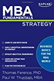 MBA Fundamentals Strategy (Kaplan Test Prep)