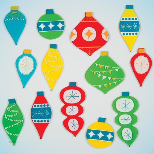 GelGems Holiday Ornaments Large Bag Gel Clings - 1