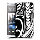 Head Case Swirl Samoan Tattoo Protective Snap-on Back Case Cover For Htc One