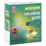 Rite Aid Stop Smoking Gum, 4 Mg Mint 100 ea