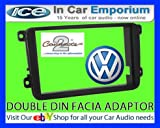 VW Golf MK5 stereo radio Facia Fascia adapter panel plate trim CD surround