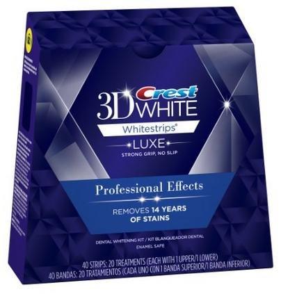 3D Crest クレスト 歯 ホワイトニング 20日分 40枚入り 正規品 [並行輸入品]