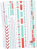 """bloom daily planners 2015-16 Academic Year Daily Planner (+) Passion/Goal Organizer (+) Fashion Agenda (+) Weekly Diary (+) Monthly Datebook Calendar (+) August 2015 - July 2016 (+) 5.5"""" x 8.25"""" - ARROWS"""