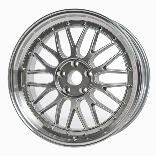 18″ Gunmetal Audi ST8 LeMans Style Wheels Set