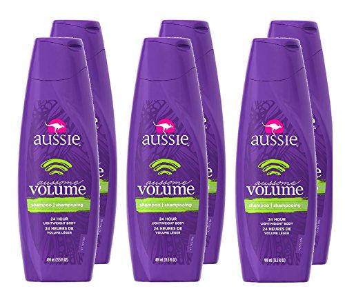 Aussie Aussome Volume Shampoo, 13.5 Fl Oz (Pack of 6)