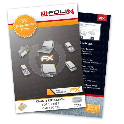 3 x atFoliX Schutzfolie Toshiba