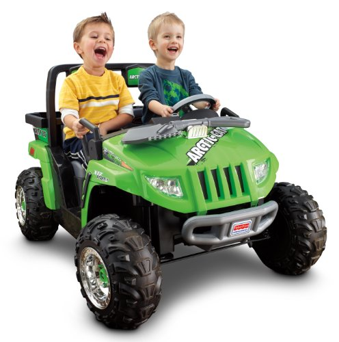 Fisher-Price Power Wheels Arctic Cat - Green