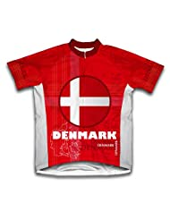 Denmark Short Sleeve Cycling Jersey for Women