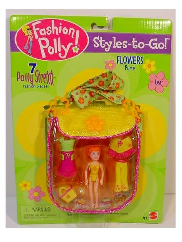 Fashion Polly Pocket STYLES TO GO Lea Flowers Purse - Buy Fashion Polly Pocket STYLES TO GO Lea Flowers Purse - Purchase Fashion Polly Pocket STYLES TO GO Lea Flowers Purse (Polly Pocket, Toys & Games,Categories,Dolls,Playsets,Fashion Doll Playsets)