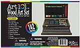 Art 101 142-Piece Wood Art Set