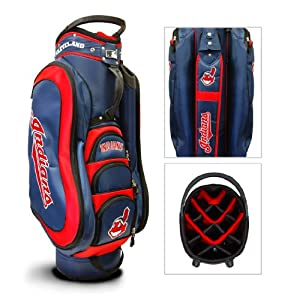 Cleveland Indians MLB Medalist Golf Cart Bag - Team Golf by Team Golf