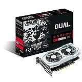 ASUS Dual-Fan Radeon Rx 460 2GB OC Edition AMD Gaming Graphics Card (DUAL-RX460-O2G)