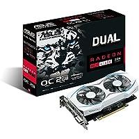 Asus Dual-fan Radeon RX 460 2GB OC Edition AMD Gaming Graphics Card