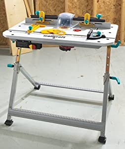 Wolfcraft Folding Router Table Amazon Com