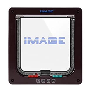 IMAGE® ペット用ドア 23.5×25×5.5cm