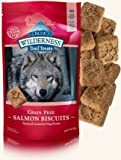Blue Buffalo Wilderness Trail Grain-Free Treats, Salmon, 10 oz