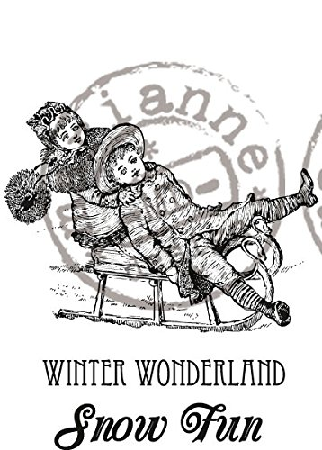 Marianne Winter Wonderland Rubber Stamp - 1