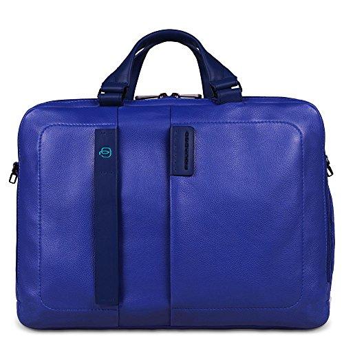 Piquadro CA3347P15/BLU Cartella, Linea Pulse, Blu, 41 cm