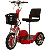 CHALLENGER X Recreational Electric Mobility Scooter Ride Seated or Standing with Deluxe Folding Seat