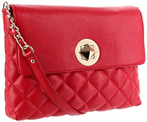 Kate Spade New York's Kate Spade York Gold Coast Charlize Shoulder Bag,Scarlet,One Size Only For $395.00