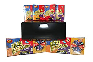 Gift Boxed #2 Harry Potter Jelly Belly Bean Boozled 2 Spinner Games 3.5 Oz, 4 Bean Boozled 1.6 Oz Boxes, and a Thank You Gift