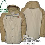 Washed Short Parka 3014: Vintage Tan / Tan