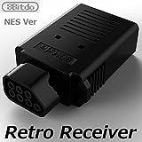 【Dianziオリジナル】ワイヤレスコントローラーがファミコン本体で使えるようになるレシーバー「Retro Receiver for NES」8Bitdo [CXD1408] [並行輸入品]