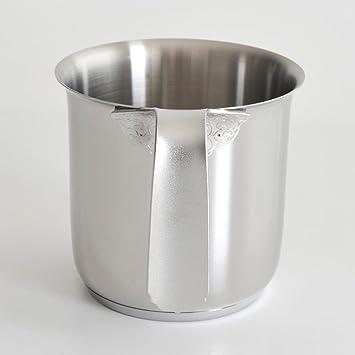 Alessi pichet lait acier acier inoxydable poli miroir for Acier poli miroir
