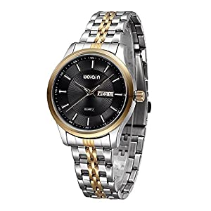 Elegant Men's Calendar Quartz Watch Fashion Casual Sports Watch