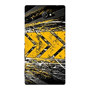 Forward Abstract Back Case Cover for Sony Xperia M2