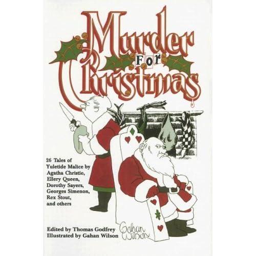 'Murder for Christmas' book cover art