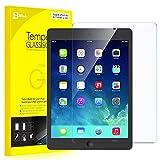 iPad Air フィルム, JETech 液晶保護 強化ガラス フィルム,高精細度,iPad Air 1/2用ガラス保護フィルム