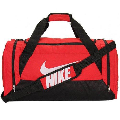 Nike Brasilia 6 Medium Duffel Bag, Red