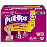 Pull-Ups Potty Training Pants with Learning Designs for Girls 2T-3T - 96CT