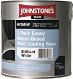 Johnstones Two pack Epoxy Water Based Wall Coating Paint Coverage 5-7m
