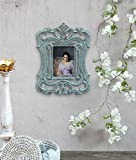 Store Indya Lovely Wooden Photo Frame Antique Brown Beautiful Designer Wall Picture Photograph Decor