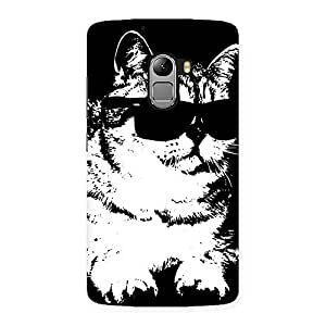 Delighted Thug Cat Back Case Cover for Lenovo K4 Note
