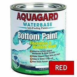 Aquagard Waterbased Anti-Fouling Bottom Paint - 1Qt - Red