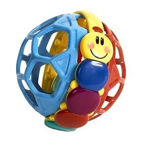 (大热)小小爱因斯坦 玲珑球Baby Einstein Bendy Ball,$5.88