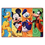 Disney Mickey Mouse Clubhouse Rug HD Digital MMCH Kids Room Decor Bedding Area Rugs, 40