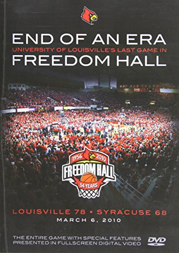 End of an Era: University of Louisville's Last Game in Freedom Hall [DVD] [2010]