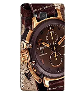 Omnam Uboat Watch Close Up Designer Back Cover Case For Xiomi Redmi Note 2