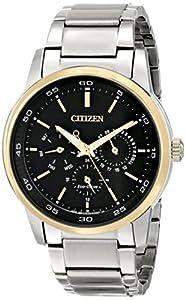 Citizen Men's BU2014-56E Dress Analog Display Japanese Quartz Silver Watch