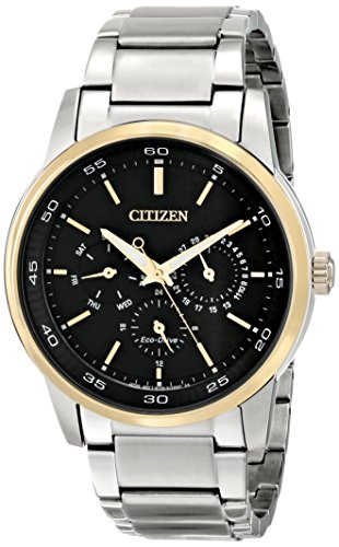 Citizen Eco-Drive Dress Multifunction Stainless Steel - Two-Tone Men's watch #BU2014-56E