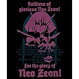ガンダムZZ ハマーン・カーンTシャツ ブラック サイズ:L