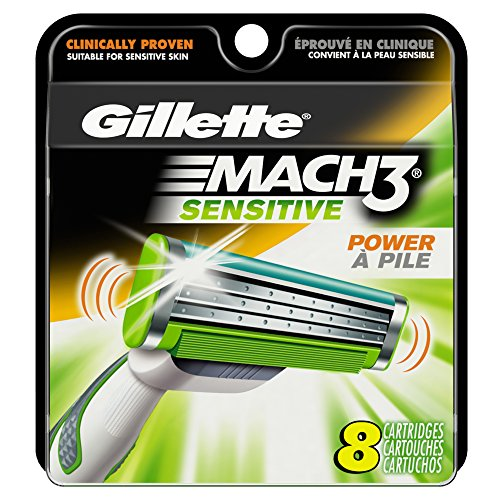 gillette-mach3-sensitive-power-mens-razor-blade-refills-8-count-packaging-may-vary