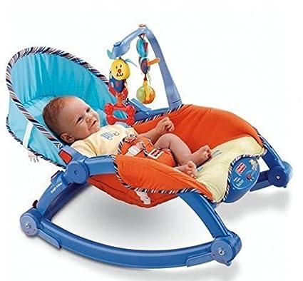 Gifts & Arts Newborn to Toddler Portable Baby Rocker