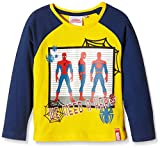Marvel Spiderman-camiseta Niñas    Amarillo Yellow (Corn) 8 años