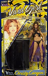 The Vivid Girls Action Figure Christy Canyon Adult Superstar